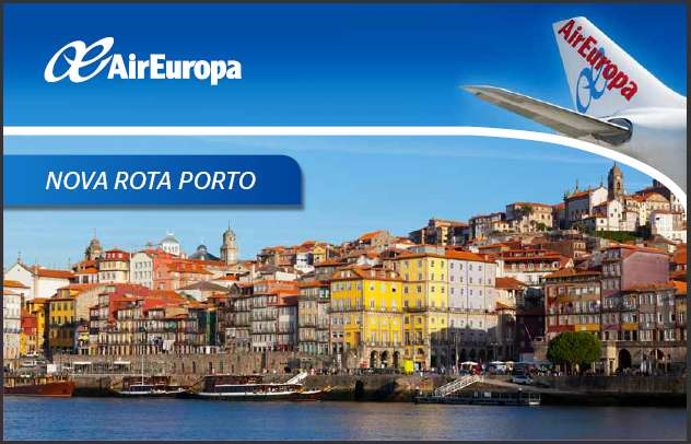 Madrid com Air Europa