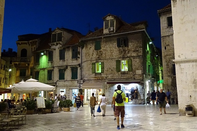 croatia-split-night